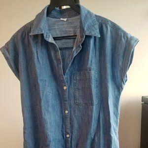 Old Navy - Denim sleeve shirt dress